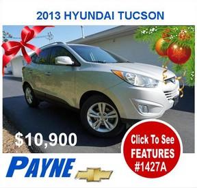 Payne 2013 Hyundai Tucson 1427A