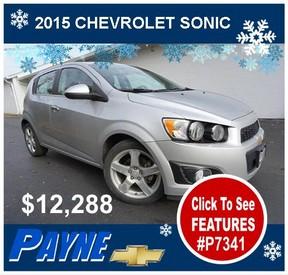 Payne 2015 Chevrolet Sonic winter P7341 288