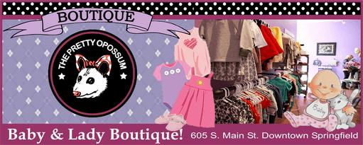 Pretty Opossum baby lady boutique 511