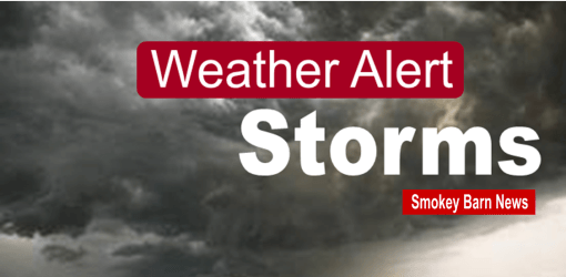 Scattered Storms Later Today, Severe T-Storms Expected Friday Evening