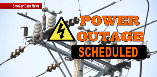 CEMC: Planned Outage For Greenbrier Tuesday Nov. 27