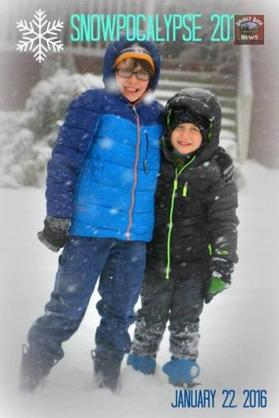 Submitted by Kelly Crabtree Armes Coopertown - fun day of sledding and snowball fights!