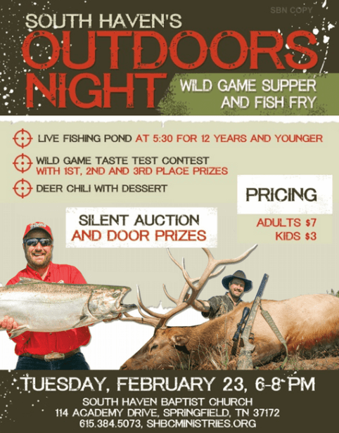 South Haven Wild Game night 511a
