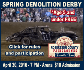 spring demolition derby 2016 300a