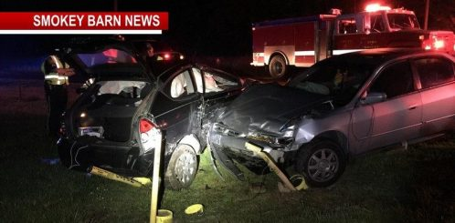 Five Hospitalized In Two Car Rollover In Springfield