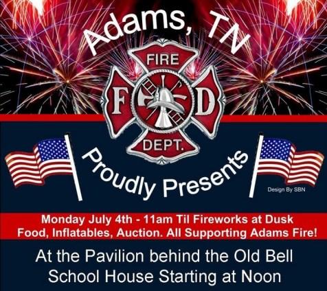 Adams july 4 celebration 2016