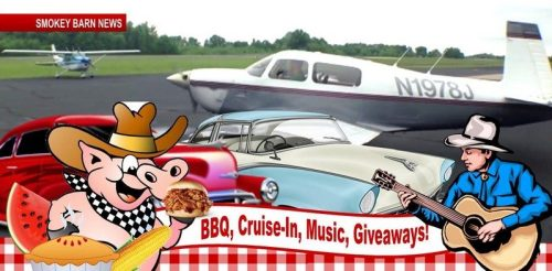 Springfield Airport Braces For BBQ-Fly-&-Cruise-In This Saturday (Planes-Cars-Food-Music-Games)