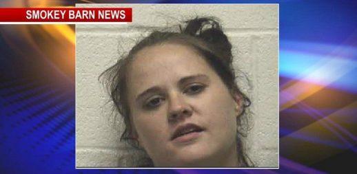 Greenbrier woman arrested stolen wallet