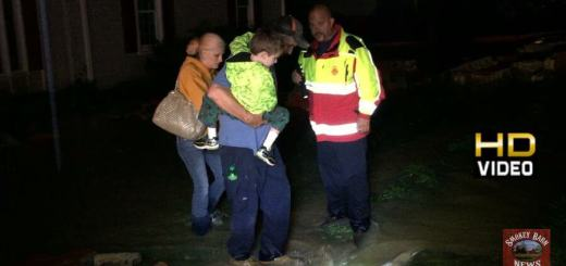 Family Escapes Flooding On Attic Steps And Little Caesars Flooded