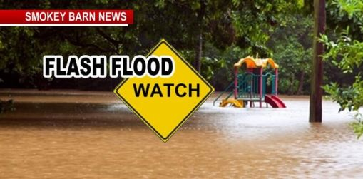 Flash Flood Watch Til 10PM for Robertson Co., 2-3 Inches Expected
