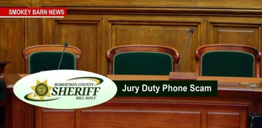 Jury Duty Scam Hits Robertson County