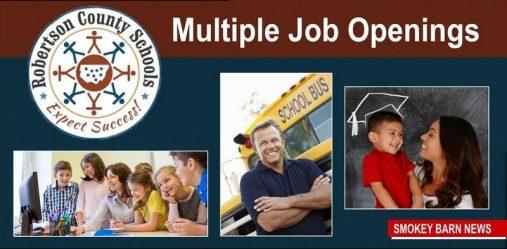 RC schools job openings