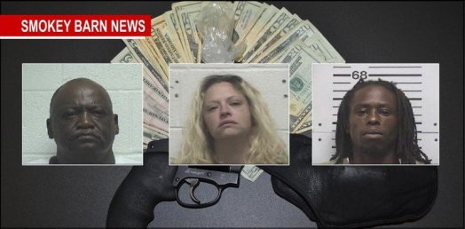 drugs-gun-bust-three-arrested