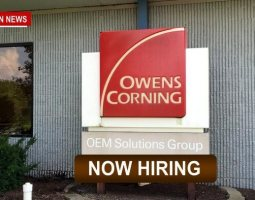 "Owens Corning Hiring With Sign-On Bonus, ""Come Join Our team!"""