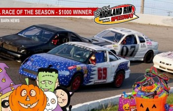 Highland Rim Season End Races (Road Warriors/Super Stock) & Trunk Or Treat (THIS SATURDAY)