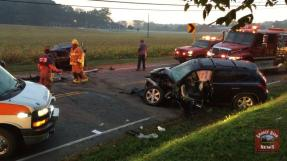 Hwy 49 East Closed Following Head-On Wreck UPDATE