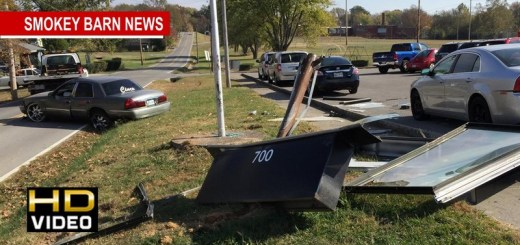 Crash At Bransford Elementary (Students-Driver OK)