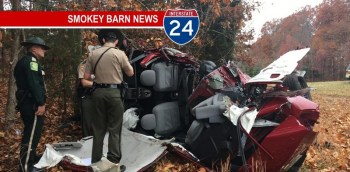 Driver Survives I24 Rollover Crash Thanksgiving Day