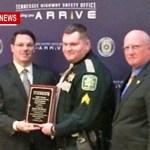 Local Deputy Wins Highway Safety Award