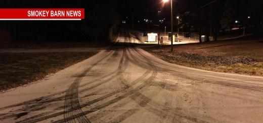 Traffic Advisory: Main Roads Clear-Back Roads Slick