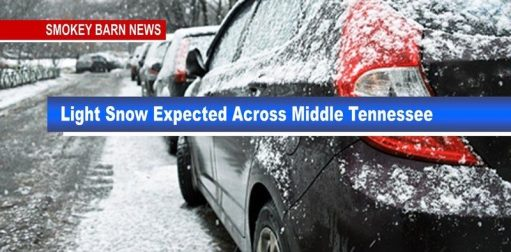 Sunday: Light Snow Showers Expected Across Middle Tennessee