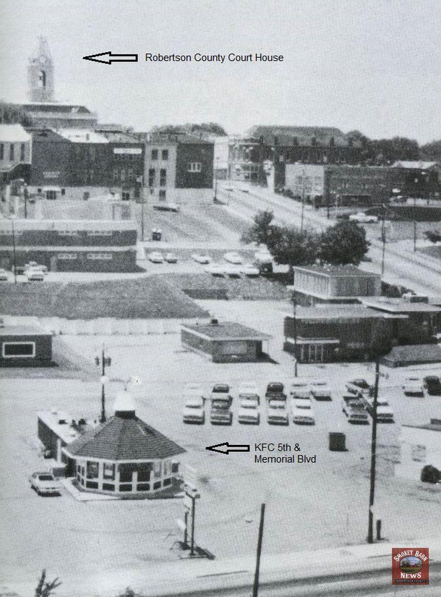 KFC original location at 5th & Memorial Blvd