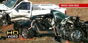 Three Hospitalized In Hwy 49 Head On Crash Sunday
