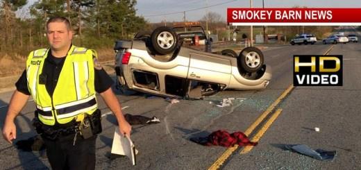 Grandmother, Mom, Baby, OK After HWY 41 Rollover Crash