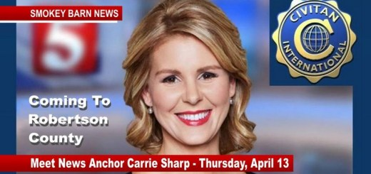 News Channel 5 Anchor to Speak In Robertson County