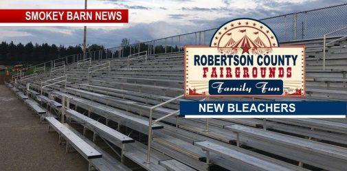 Robertson County Fairgrounds Get New Bleachers