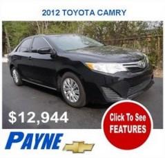 Payne 2012F toyota camry 2996309593