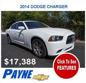 Payne 2014F DODGE CHARGER 2971630673