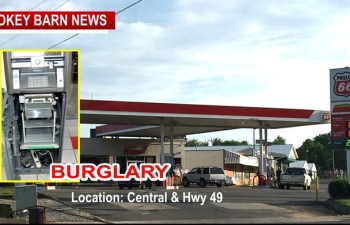 Was A Gas Station Burglary Wed The Work Of Professionals?