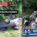One Fatality, 4 Injured In Multiple Robertson County Crashes Wednesday