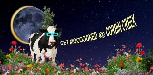 2017 Eclipse: Get Mooned At Corbin Creek (Nature-Art-Food)