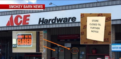 Multiple Ace Hardware Stores Suddenly CLOSE