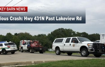 Serious Crash Closes Hwy 431N Just Past Lakeview Rd