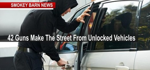 42 Guns Make The Street From Unlocked Vehicles In Clarksville