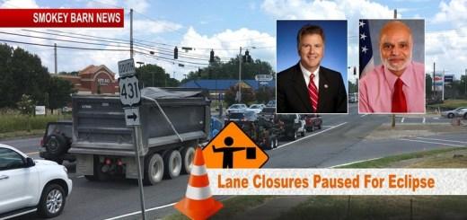 431/Memorial Roadway Project To Halt For Eclipse/Fair Thanks To Legislators Roberts/Kumar