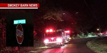 Crews Battle Tobacco Barn Fire In Springfield