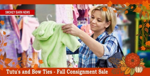 Fall/Winter Consignment Sale Open To Public Sept. 16-20