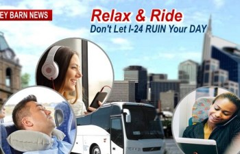 Don't Let I-24 Ruin Your Day, Relax & Ride To Nashville