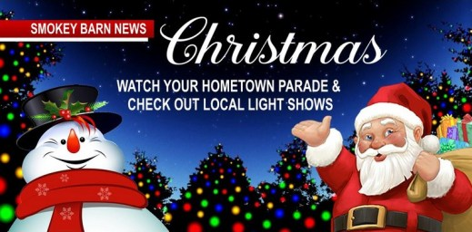 Christmas Events & Parades & Local Light Shows