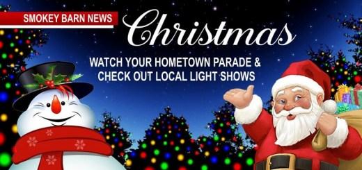 Christmas Events & Parades & Local Light Shows