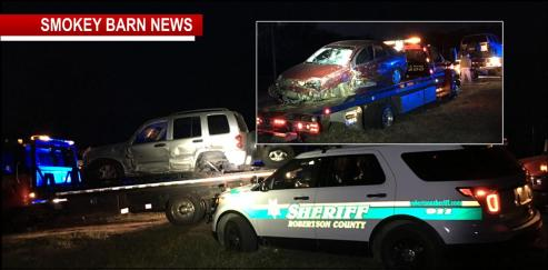 Car Chase Ends In Crash