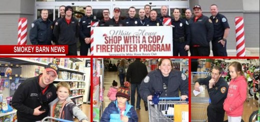 "White House ""Shop with a Cop and Firefighter"" Assist 17 Children This Christmas Season"