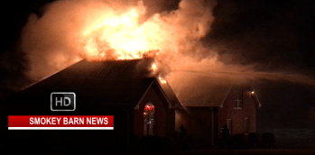 Massive Fire Engulfs Greenbrier Home Early Tuesday