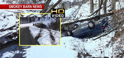 Officials Find Empty Car After Rollover Crash In Greenbrier