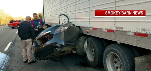 Two Pulled From Wreckage Under Semi After I-24 Crash Near Pleasant View