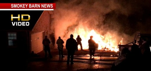 Firefighters Stop Garage Fireball From Taking Home